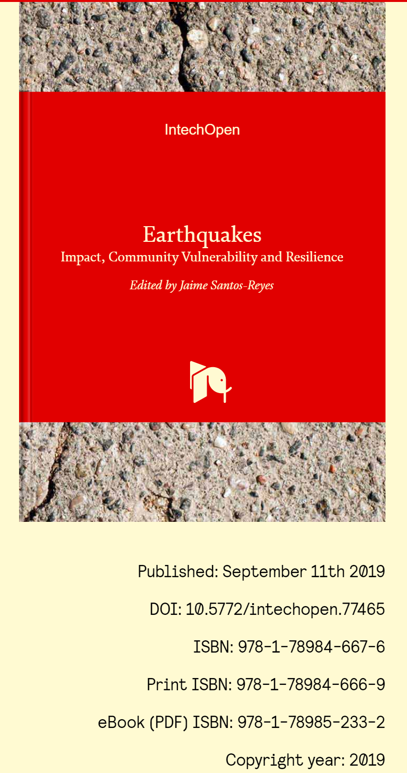 Earthquakes. Impact, Community Vulnerability and Resilience